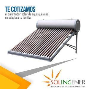 SOLINGENER CALENTADOR SOLAR