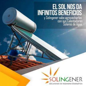 SOLINGENER CALENTADOR SOLAR DE AGUA