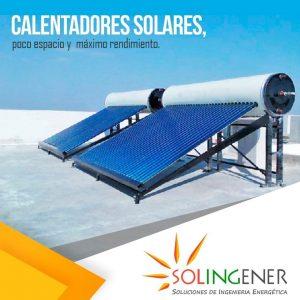 SOLINGENER CALENTADOR SOLAR RESIDENCIAL