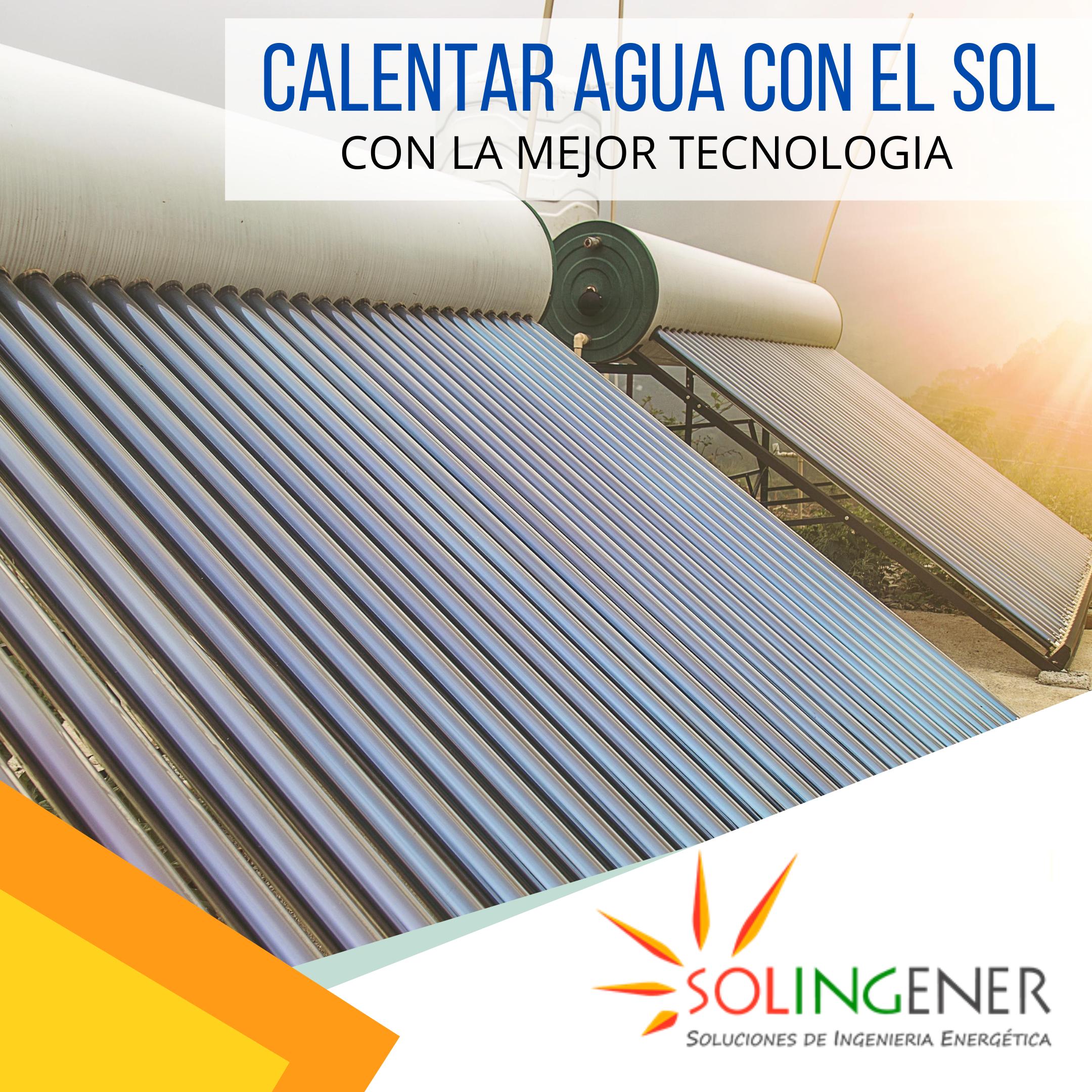 Calentadores Solares